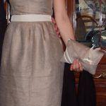 El vestido de la boda.