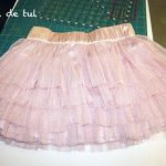 DIY: T´shirt and tulle dress