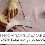2ª PARTE COSE CONMIGO ABRIGO PELO BURDA – ENTRETELA, VISTA Y CUÑA