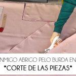 1ª parte. COSE CONMIGO ABRIGO PELO BURDA  – PATRÓN Y CORTE