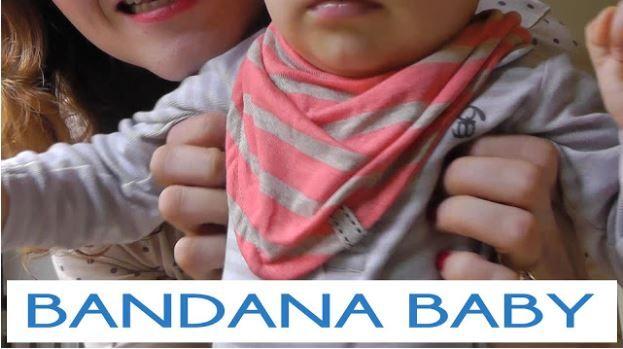 tutorial bandana babero