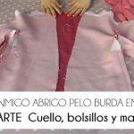 3ª PARTE COSE CONMIGO ABRIGO PELO BURDA. CUELLO BOLSILLOS Y MANGAS