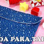 DIA DEL PADRE!!! TUTORIAL COMO HACER UNA FUNDA PARA TABLET, KINDLE; etc  o BOLSO DE MANO