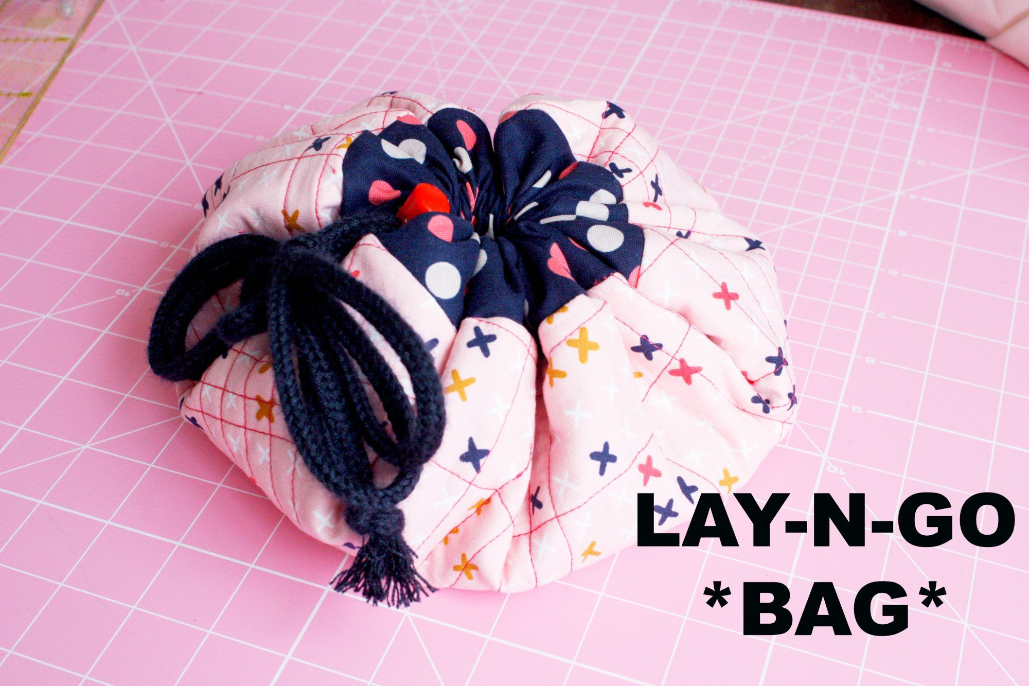 Cómo hacer un neceser Lay-n-go