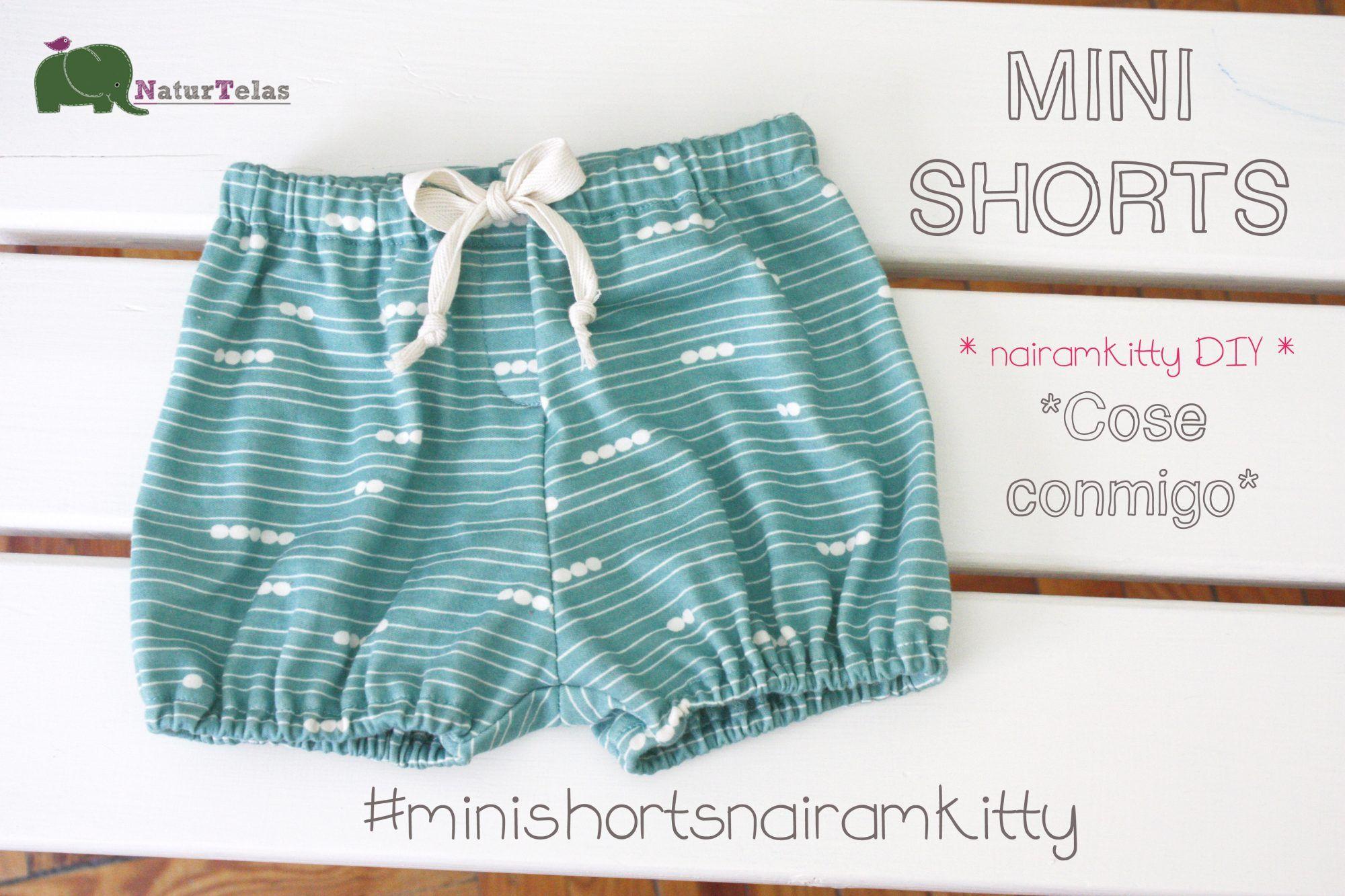 Cose conmigo #minishortsnairamkitty 2ª parte Confección