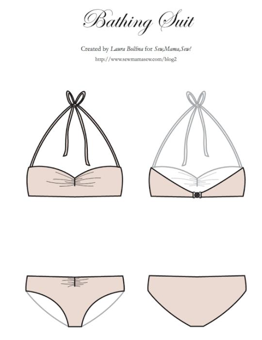 Como coser un bikini este verano