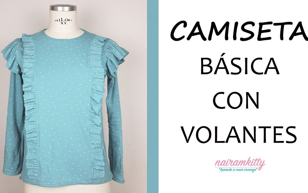 tutorial camiseta básica