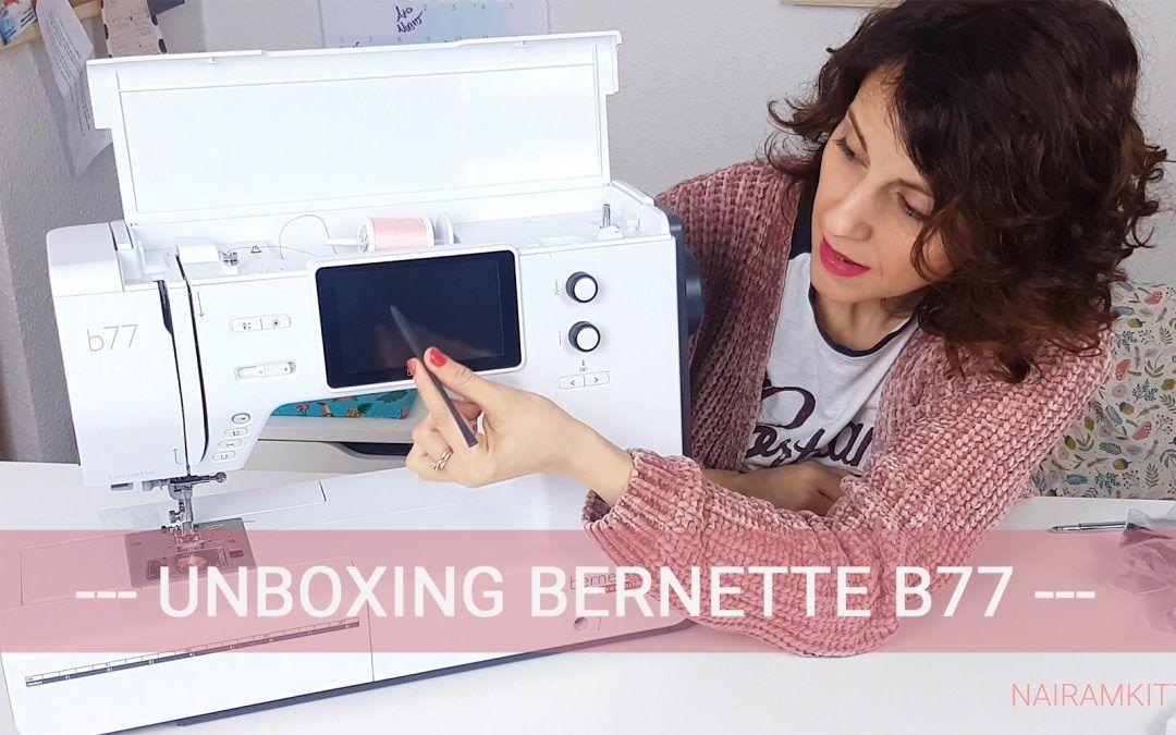 unboxing bernette b77